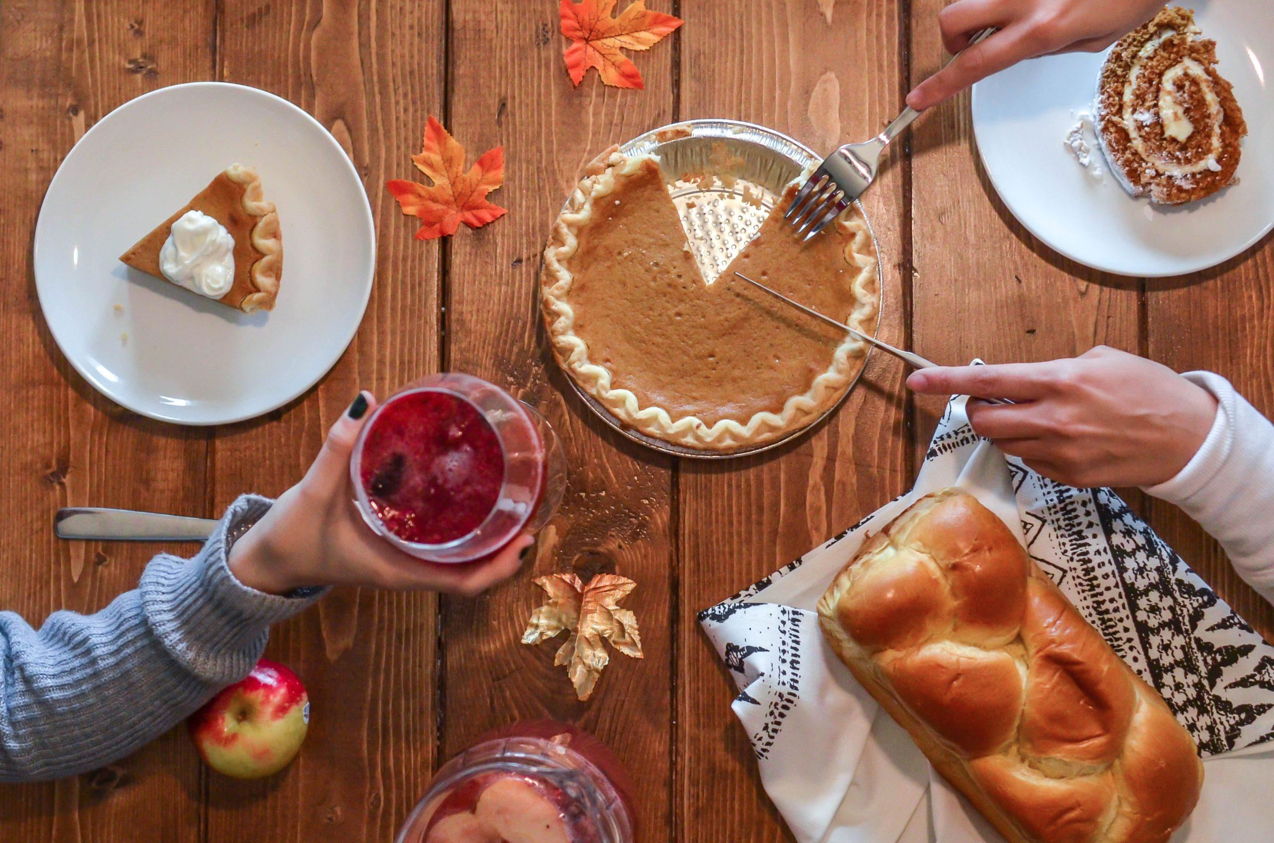 Digital Thanksgiving Team Dinner