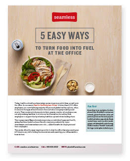 Trend: The Health Conscious Workplace