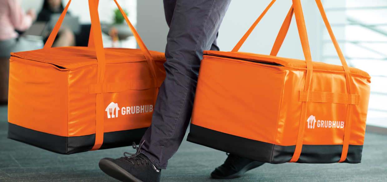 Grubhub delivery bags