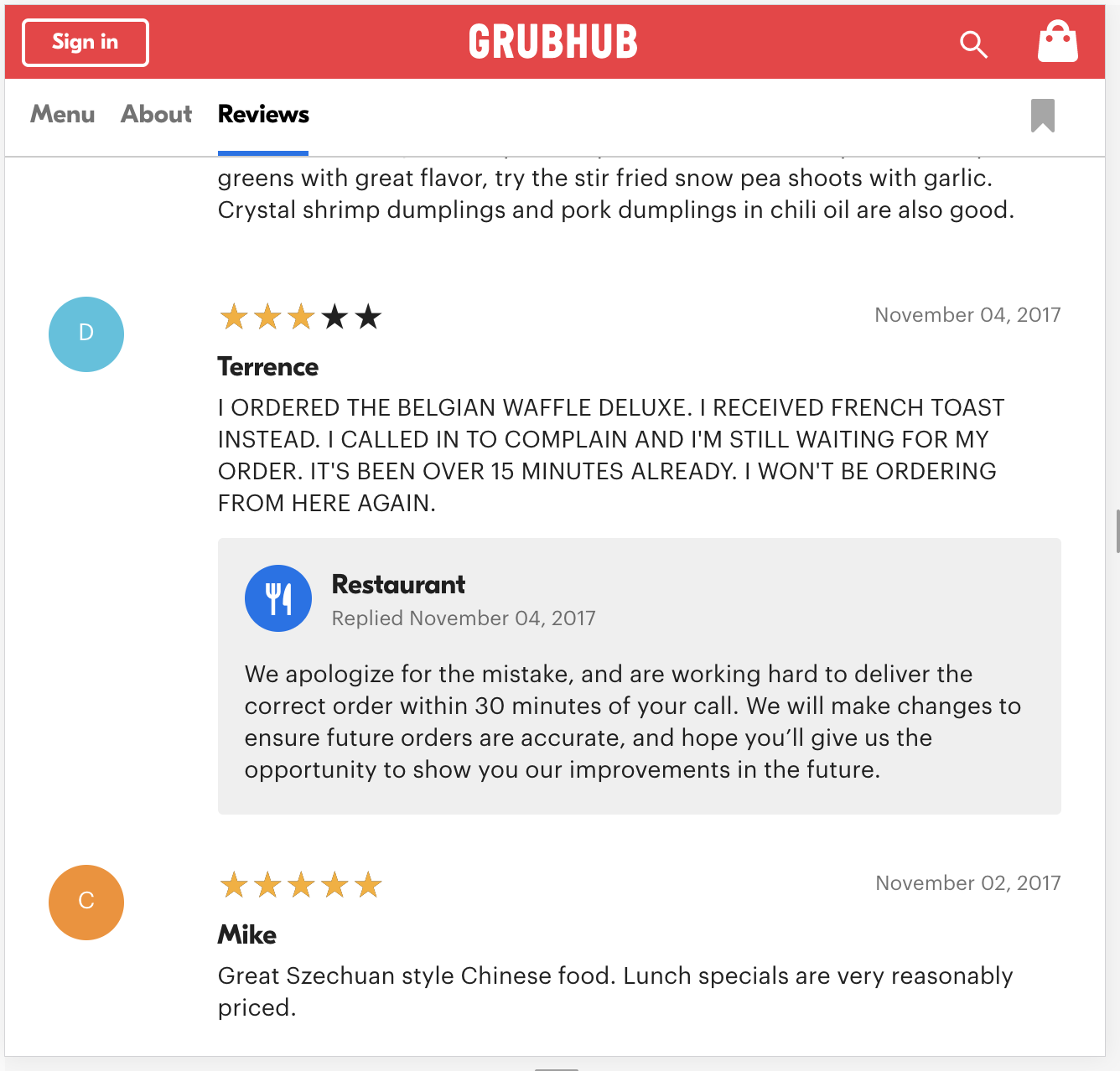 Best Practices For Replying To Reviews Get Grubhub
