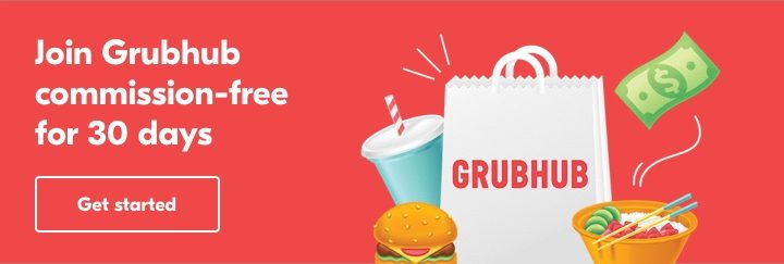 sign up for Grubhub for Restaurants today