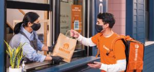 Grubhub Delivery exchange