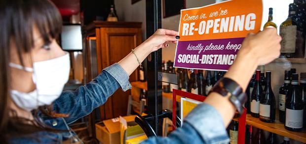 Restaurant reopening success