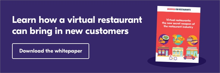 Learn how a virtual restaurant can help bring in more customers