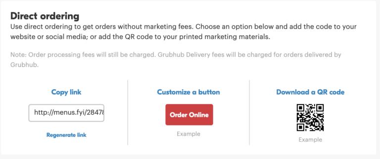 Screenshot of Direct Ordering Kit