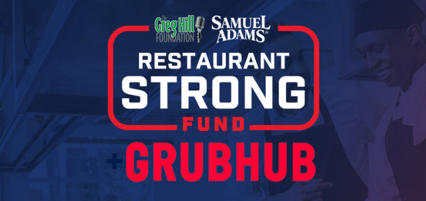 Grubhub and the Greg Hill Foundation announce the Restaurant Stronger Fund