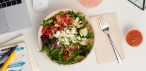 a group order meal from Grubhub