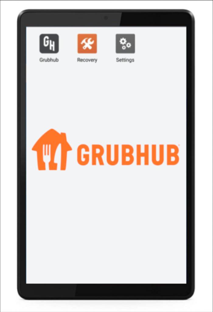 Grubhub tablet