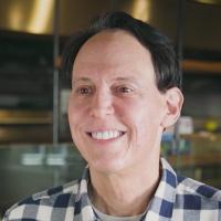 headshot of Adam Weiss from Honeybee Burger