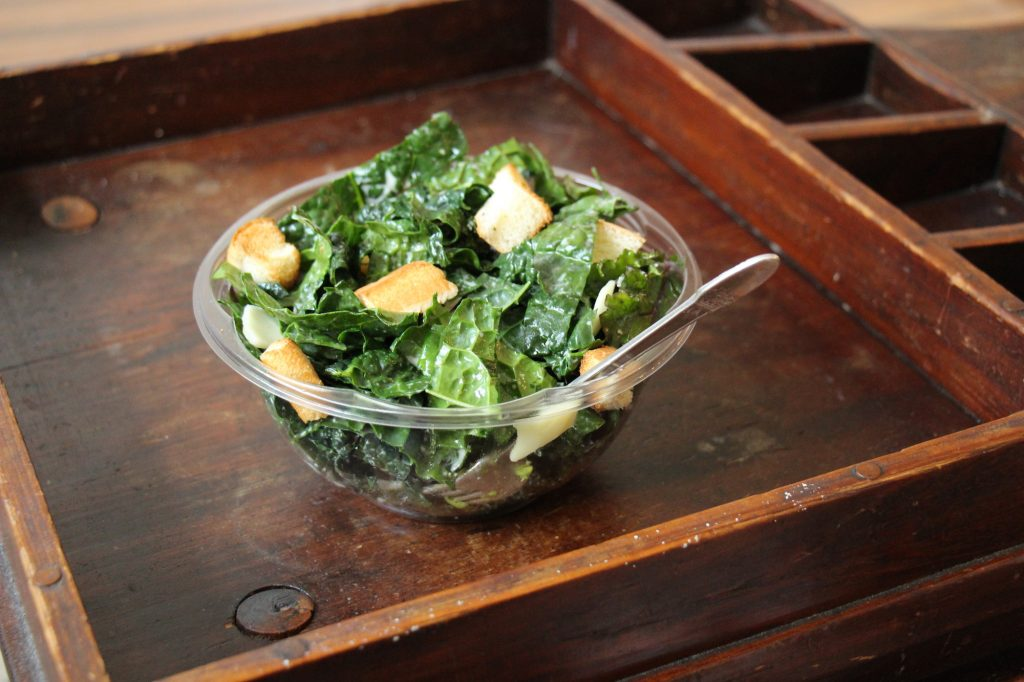 Kale, Kale Salad, Kale Caesar Salad, Caesar Salad