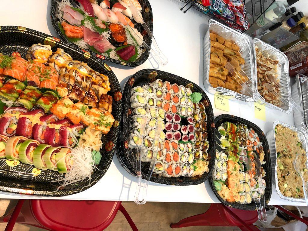 Sushi, Sashimi, Gyoza