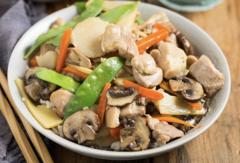 Moo Goo Gai Pan, Chinese Food