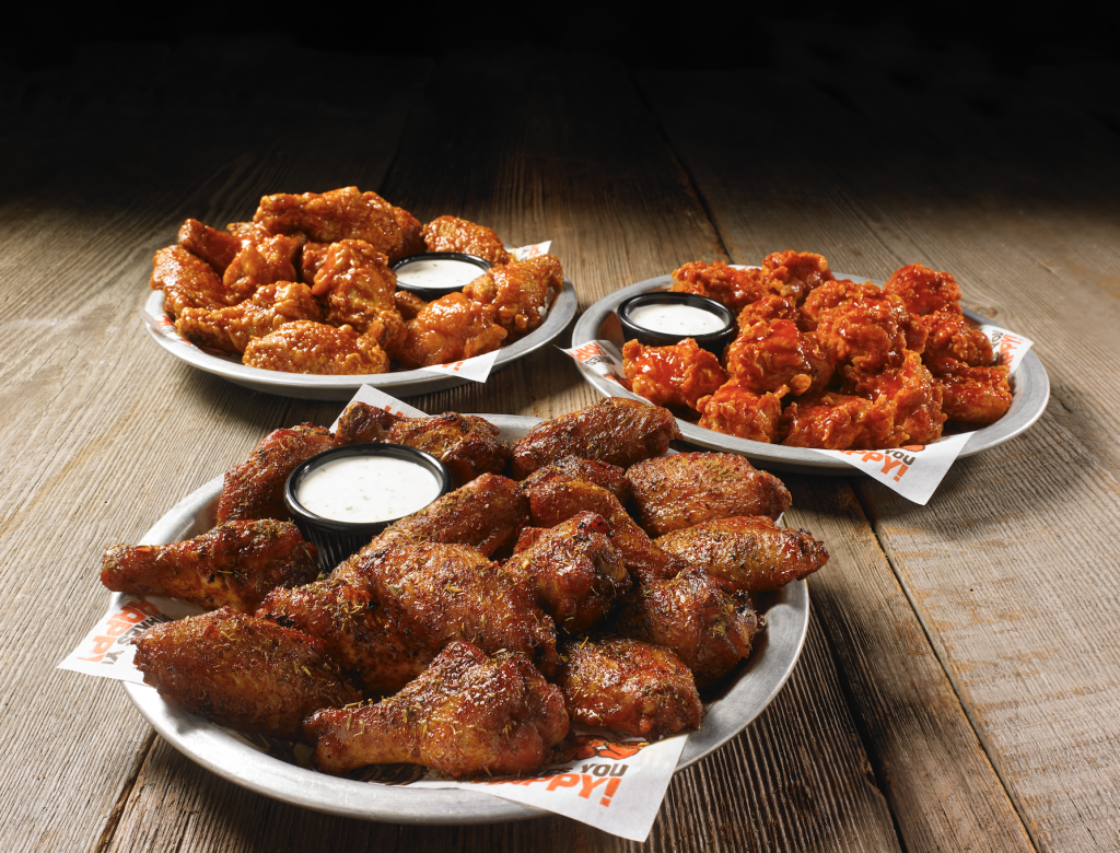 Hooters:  Get $5 off your order of $25 or more from March 29-31.
