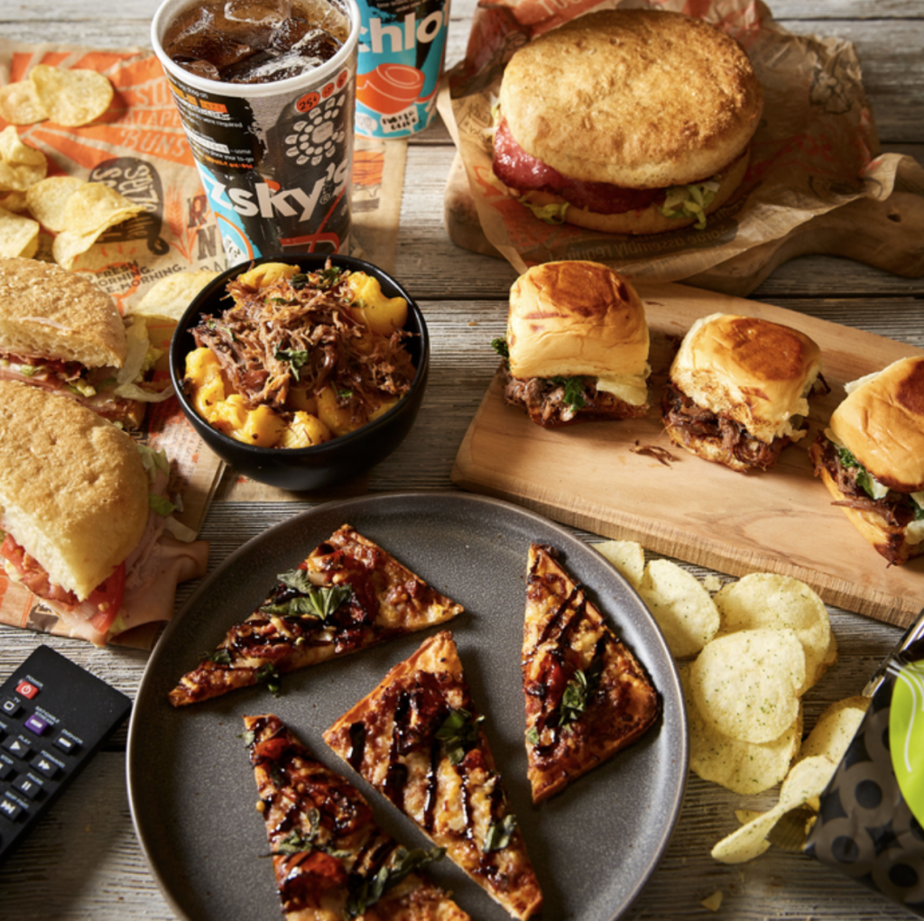 Schlotzsky's:  Free delivery on any order placed from March 21-24.