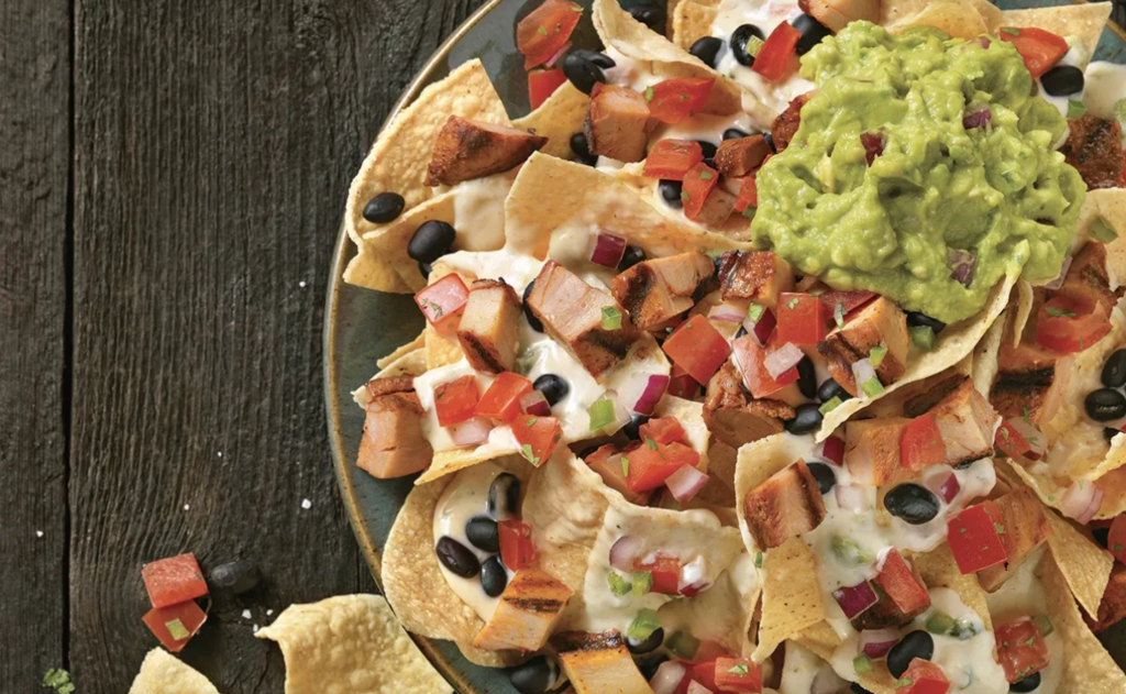 Qdoba:  Free delivery on any order placed from April 6-8.