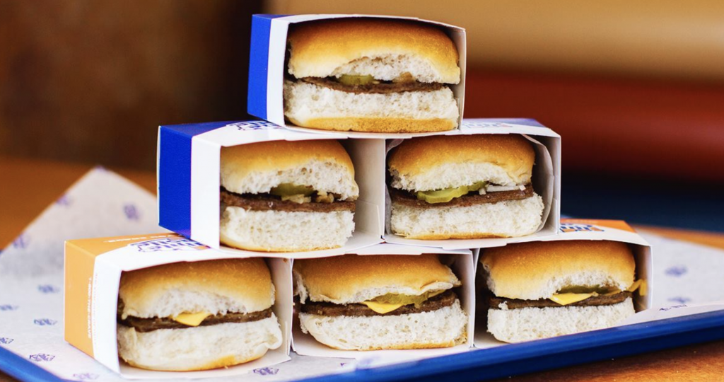 White Castle:  Free delivery on any order placed from March 28-30.